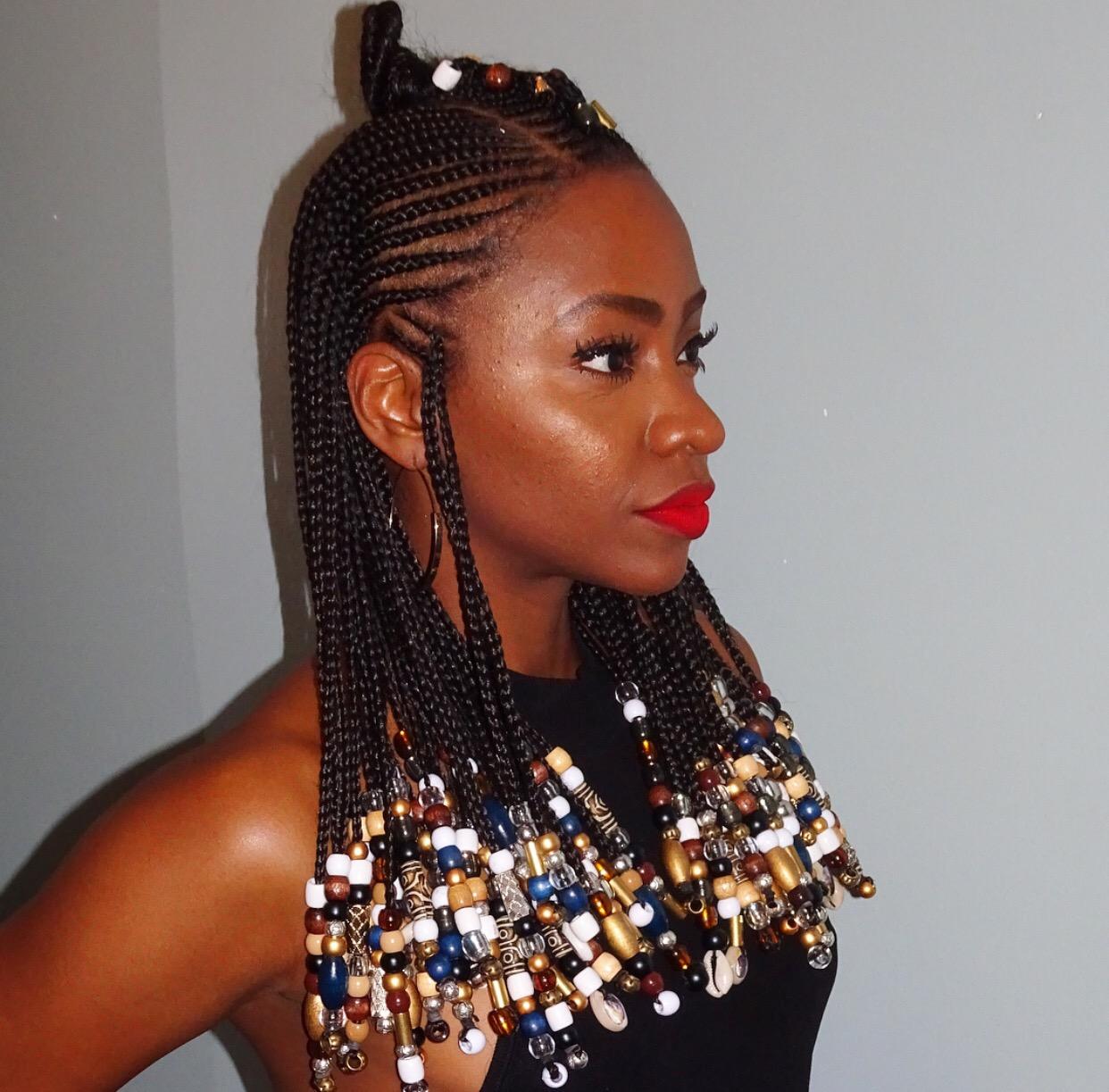 Pour ce qui est de l\u0027entretien de ces nattes, Teyonah Parris, que nous  admirons toutes pour sa magnifique chevelure, a partagé sur son compte  instagram,