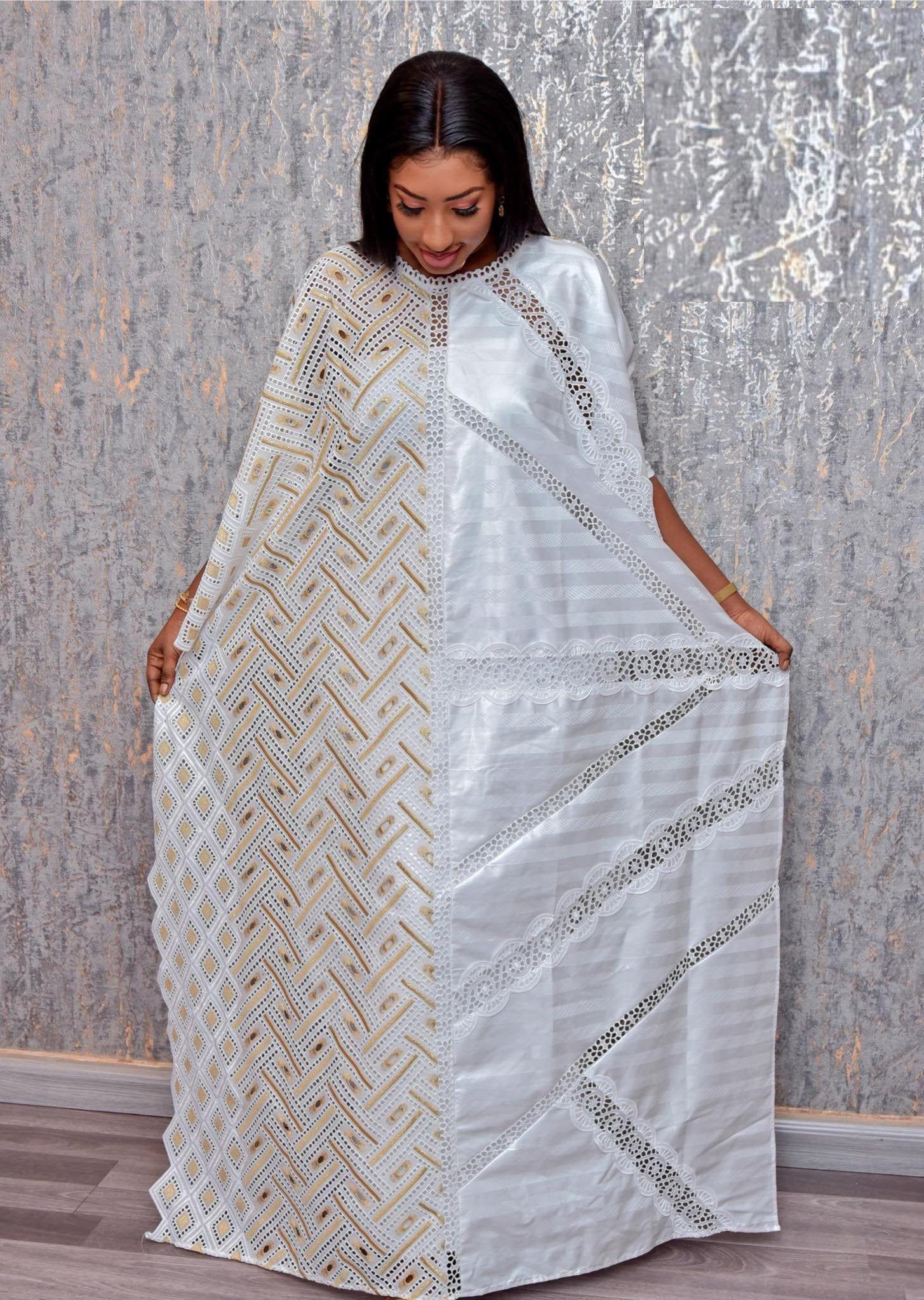 Premium Getzner magnum gold African dress_African clothing_African fashion_ African dress_Bazin boubou, Plus size dress_Plus size clothing
